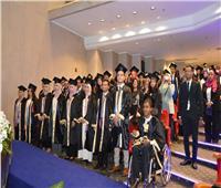 جامعة عين شمس تحتفل بتخريج أول دفعة منح أمديست