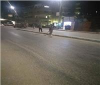 الوحدة المحلية بمركز المنيا تنظم حملة لرفع القمامة من الشوارع