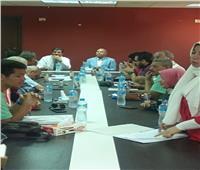 نائب محافظ القاهرة يناقش مشكلة الصرف الصحي بالمطرية