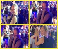 شيرين رضا ترقص على أغنية «يوم تلات» وتقول: «أنا أم خدود»