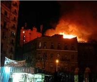 الحمايه المدنية تسيطر على حريق شقة في رمسيس