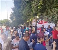 صور  المئات يحتشدون أمام النصب التذكاري لتأييد الاستقرار ودعم الرئيس