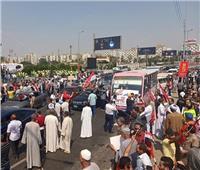 بث مباشر| احتفالات المصريين أمام «النصب التذكاري» لتأييد الاستقرار