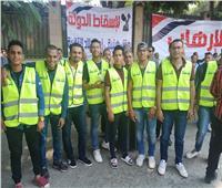صور  شباب مستقبل وطن يستعد لتنظيم احتفالية تأيد الاستقرار