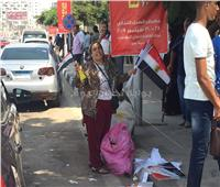 صور  المرأة المصرية تشارك بقوة في حفل تأييد «السيسي»