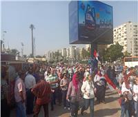 صور| الآلاف ينضمون للمسيرة الحاشدة بالمنصة لدعم الرئيس السيسي