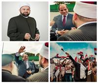 خاص  أول تصريح لإمام الأوقاف «عزام» بعد استقباله «السيسي» عقب عودته من نيويورك