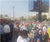مسيرات مؤيدة للرئيس السيسي في ميادين المحافظات