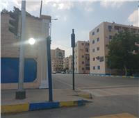 صور  هدوء في شوارع الإسماعيلية