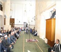 محافظ الجيزة يشارك في افتتاح مسجد اللواء عبدالوهاب خليل بالشيخ زايد