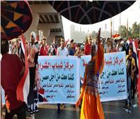 شباب الشرابية يحتشدون لتأييد الرئيس السيسي