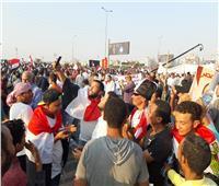 شاهد| المصريون يواصلون الاحتشاد في مليونية «تأييد الاستقرار»