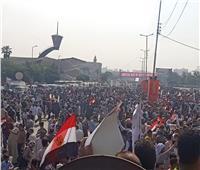 فيديو.. مسيرات حاشدة بشواع القاهرة لدعم الاستقرار وتأييد «السيسي»