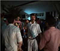 صور  المواطنون يغادرون المنصة بعد احتفالية دعم مصر وتأييد «السيسي»