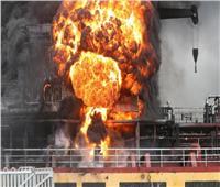 إخماد حريق على متن ناقلتي نفط في ميناء كوري جنوبي