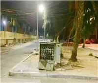 كابينة كهرباء.. «قنبلة موقوته» أمام مواطني حلوان