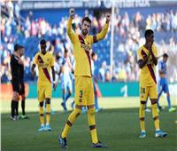فيديو  برشلونة يفوز على خيتافي ويرتقي لوصافة الدوري الإسباني