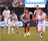 التشكيلة الرسمية لمباراة أتلتيكو مدريد والريال