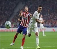 أتلتيكو مدريد والريال يتعادلان سلبيًا في الشوط الأول