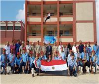 «باهي» يشهد مراسم إفتتاح وتشغيل المدرسة الزخرفية الصناعية ببورسعيد