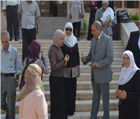 صور| المحرصاوي يفاجئ المدينة الجامعية لطالبات الأزهر اليوم