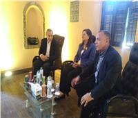 «وزيري» يعلن عن مفاجأت قريبًا خلال زيارته نجع حمادي