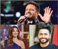 حماقي وتامر حسني ونانسي الأبرز.. خريطة حفلات نجوم الغناء في أكتوبر