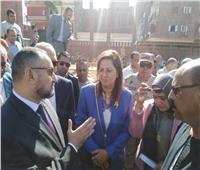 نواب قنا يطالبون وزيرة التخطيط بالاهتمام بقلعة شيخ العرب وتطوير المستشفيات