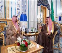الملك سلمان وولي عهده يستقبلان أسرة اللواء عبدالعزيز الفغم
