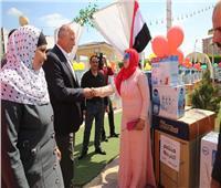 توزيع أجهزة كهربائية على ١١٠ عروسة بكفر الشيخ| صور
