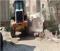 حملة لإزالة الإشغالات بشوارع مدينة نصر