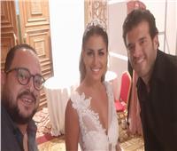شاهد.. منة فضالي عروس محمود غالي في عرض «المستثمرات العرب»