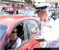 مدير الإدارة العامة للمرور يتفقد الخدمات الأمنية على الطريق الدائري
