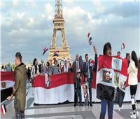 مظاهرات حب مصرية فى العواصم الأوروبية