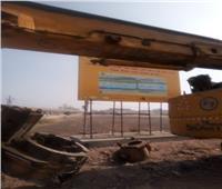 محافظ أسيوط يتفقد الأعمال المبدئية لإنشاء المرحلة الأولى من كوبري منقباد