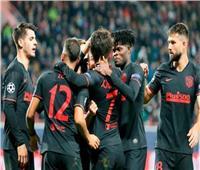 اتلتيكو مدريد يحقق فوزًا ثمينًا على لوكوموتيف موسكو في دوري الأبطال