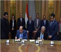 «العصار» يشهد توقيع مذكرة تفاهم مع شركة كويتية لنقل تكنولوجيا المدن الذكية