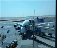 مطار القاهرة يستقبل أول رحلة منتظمة لأكبر طائرة ركاب في العالم
