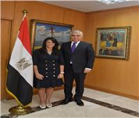 وزيرة السياحة تستقبل نائب أول وزير خارجية تاجيكستان