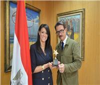 وزيرة السياحة تكرم المخرج الإبداعي للفيلم الترويجي السياحي