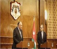 وزير الخارجية يبحث مع نظيره الأردني العلاقات الثنائية والمستجدات الإقليمية