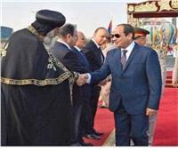 أجراس الأحد.. البابا تواضروس يشارك في احتفالات مصر أكتوبر