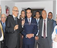 وزير التعليم العالي يتفقد جامعة بدر