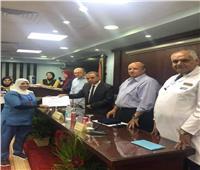 مستشفى مصر للطيران تحتفل بنجاح 55 عملية زراع كلى في عام