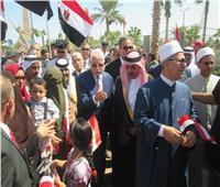 صور| ثقافة جنوب سيناء تحتفل بانتصارات أكتوبر المجيدة بحضور المحافظ
