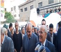 فيديو  لحظة وصول وزير الإنتاج الحربي لافتتاح شارع ٣٠٦ بالدقى