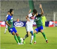 انطلاق مباراة الزمالك ومصر المقاصة بالدوري المصري