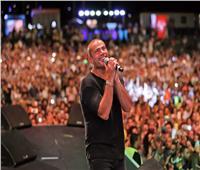 صور  عمرو دياب يتألق في حفله بالأردن