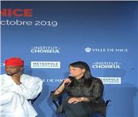 وزيرة السياحةتشارك في جلسة «الاقتصاد والمناصب القيادية في أفريقيا» بفرنسا