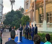 محافظ نيس بفرنسا يستضيف وزيرة السياحة المصرية